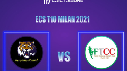 BU vs FT Live Score,In theMatchof ECS T10 Milan 2021which will be played at Milan Cricket Ground, Milan. BU vs FT Live Score,Match between Bergamo United..