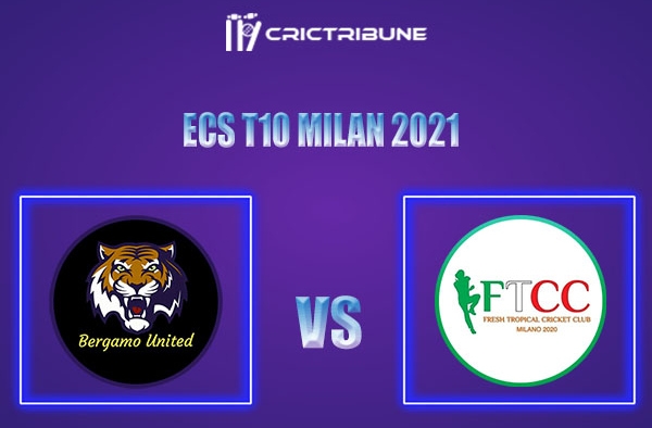 BU vs FT Live Score, In the Match of ECS T10 Milan 2021 which will be played at Milan Cricket Ground, Milan. BU vs FT Live Score, Match between Bergamo United..