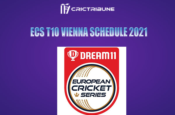 ECS T10 Vienna Live Score, ECS T10 Vienna Schedule, Player Stats, Squads and Points Table.  The tournament will be played over 12 days at Seebarn Cricket Ground.