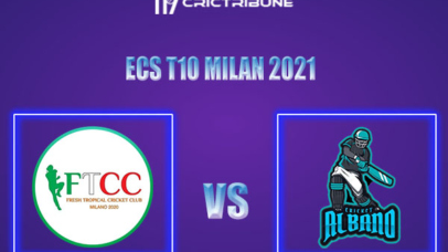FT vs ALB Live Score,In theMatchof ECS T10 Milan 2021which will be played at Milan Cricket Ground, Milan. FT vs ALB Live Score,Match between Fresh.........