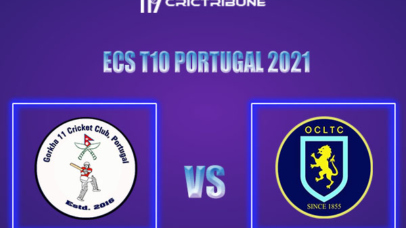 OCC vs GOR Live Score,In theMatchof ECS T10 Milan 2021which will be played at Estádio Municipal de Miranda do Corvo, Miranda do Corvo. OCC vs GOR Live Score