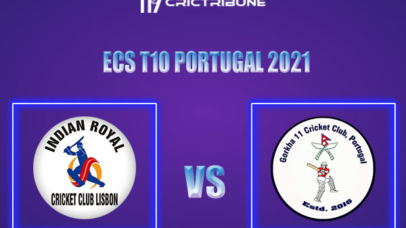 IR vs GOR Live Score,In theMatchof ECS T10 Portugal 2021which will be played at Estádio Municipal de Miranda do Corvo, Miranda do Corvo. IR vs GOR Live.....