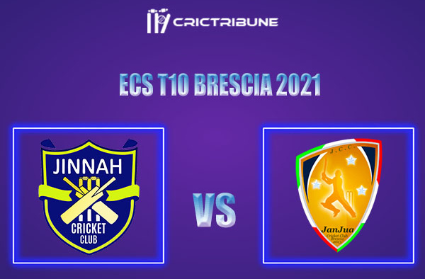 JIB vs JAB Live Score, In the Match of ECS T10 Brescia 2021 which will be played at JCC Brescia Cricket Ground, Brescia. JIB vs JAB Live Score, Match between...