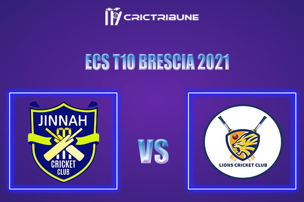 JIB vs PLG Live Score, In the Match of ECS T10 Brescia 2021 which will be played at JCC Brescia Cricket Ground, Brescia. JIB vs PLG Live Score, Match between...