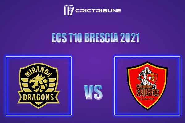 MD vs CK Live Score,In theMatchof ECS T10 Milan 2021which will be played at Estádio Municipal de Miranda do Corvo, Miranda do Corvo. MD vs CK L ive Score...