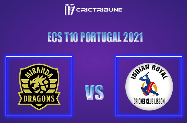 MD vs IR Live Score,In theMatchof ECS T10 Portugal 2021which will be played at Estádio Municipal de Miranda do Corvo, Miranda do Corvo. MD vs IR Live Score.