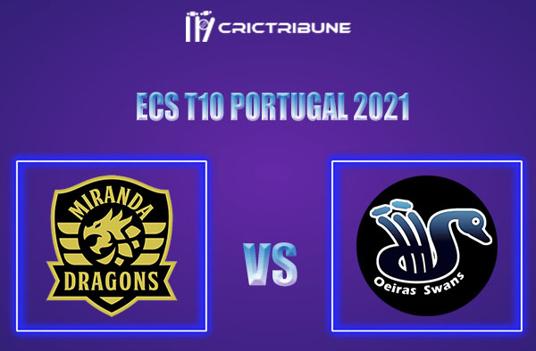 MD vs OEI Live Score,In theMatchof ECS T10 Milan 2021which will be played at Estádio Municipal de Miranda do Corvo, Miranda do Corvo. MD vs OEI L ive Score.
