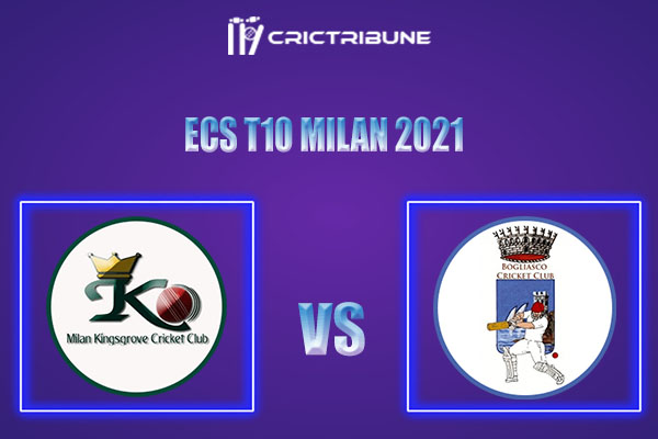 MK vs BOG Live Score,In theMatchof ECS T10 Milan 2021which will be played at Milan Cricket Ground, Milan. MK vs BOGLive Score,Match between Milan.........