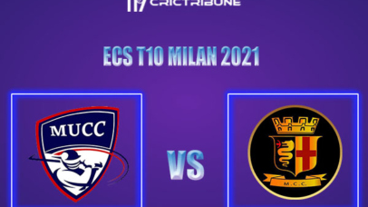 MU vs MCC Live Score,In theMatchof ECS T10 Milan 2021which will be played at Milan Cricket Ground, Milan. MU vs MCCLive Score,Match between Milan United..