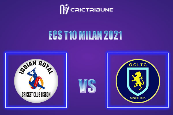 OCC vs IR Live Score,In theMatchof ECS T10 Milan 2021which will be played at Estádio Municipal de Miranda do Corvo, Miranda do Corvo. OCC vs IR Live Score..