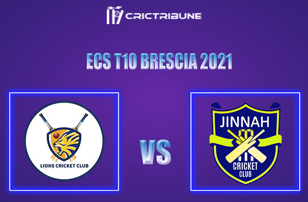 PLG vs JIB Live Score, In the Match of ECS T10 Brescia 2021 which will be played at JCC Brescia Cricket Ground, Brescia. PLG vs JIB Live Score, Match between...