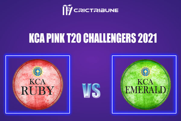 RUB vs EME Live Score,In theMatchof KCA Pink T20 Challengers2021which will be played at Sanatana Dharma College Ground in Alappuzha. RUB vs EME Live Score.