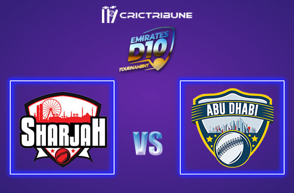 SHA vs ABD Live Score, In the Match of Emirates D10 2021 which will be played at Sharjah Cricket Stadium, Sharjah. SHA vs ABD Live Score, Match between Sharjah.