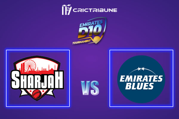 SHA vs EMB Live Score,In theMatchof Emirates D102021 which will be played at Sharjah Cricket Stadium, Sharjah. SHA vs EMB Live Score,Match between Emirates