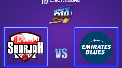 SHA vs EMB Live Score, In the Match of Emirates D10 2021 which will be played at Sharjah Cricket Stadium, Sharjah. SHA vs EMB Live Score, Match between Emirates