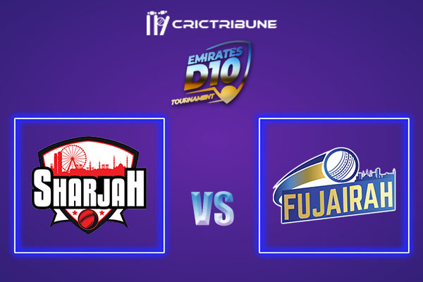 SHA vs FUJ Live Score,In theMatchof Emirates D102021 which will be played at Sharjah Cricket Stadium, Sharjah. SHA vs FUJ Live Score,Match between.........
