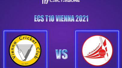 VCC vs CRC Live Score,In theMatchof ECS T10 Vienna 2021which will be played at Seebarn Cricket Ground, Seebarn. VCC vs CRC Live Score,Match between Vienna.