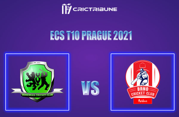 BCC vs BRD Live Score,In theMatchof ECS T10 Prague 2021which will be played at Vinor Cricket Ground. BCC vs BRD Live Score,Match between Bohemian CC.......