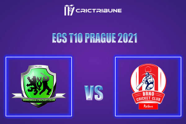 BCC vs BRD Live Score, In the Match of ECS T10 Prague 2021 which will be played at Vinor Cricket Ground. BCC vs BRD Live Score, Match between Bohemian CC.......
