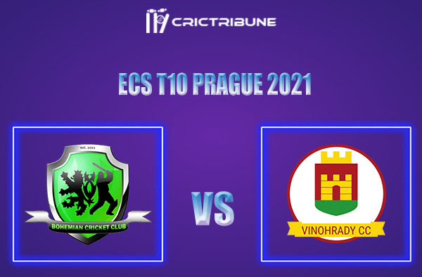 BCC vs VCC Live Score,In theMatchof ECS T10 Prague 2021which will be played at Vinor Cricket Ground. BCC vs VCC Live Score,Match between Bohemian CC.......