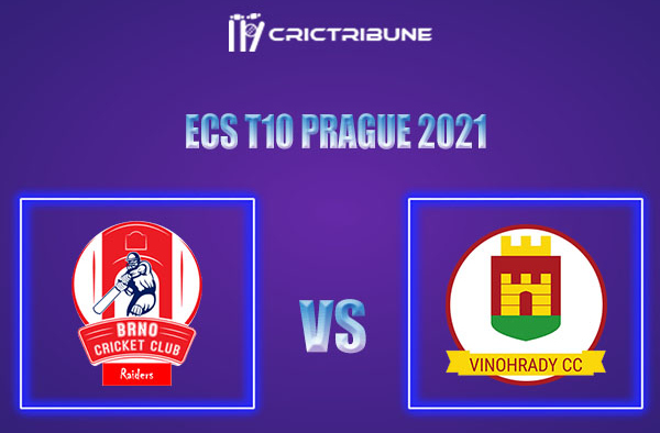 BRD vs VCC Live Score,In theMatchof ECS T10 Prague 2021which will be played at Vinor Cricket Ground. BRD vs VCC Live Score,Match between Brno Raiders......