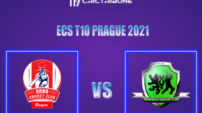 BRG vs BCC Live Score,In theMatchof ECS T10 Prague 2021which will be played at Vinor Cricket Ground. BRG vs BCC Live Score,Match between Brno Rangers......