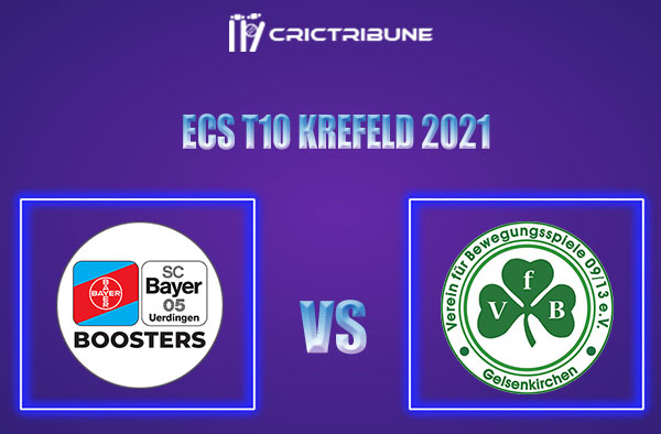 BUB vs VG Live Score,In theMatchof ECS T10 Krefeld 2021which will be played at Bayer Uerdingen Cricket Ground, Krefeld. BUB vs VG Live Score,Match between.