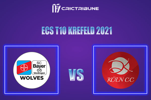 BUW vs KCC Live Score,In theMatchof ECS T10 Krefeld 2021which will be played at Bayer Uerdingen Cricket Ground, Krefeld. BUW vs KCC Live Score,Match.......