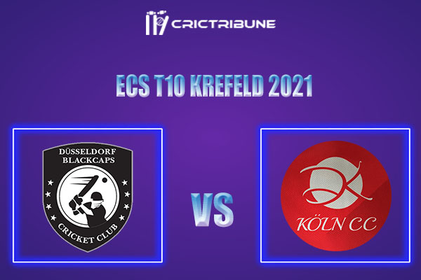 DB vs KCC Live Score,In theMatchof ECS T10 Krefeld 2021which will be played at Bayer Uerdingen Cricket Ground, Krefeld. DB vs KCC Live Score,Match between.