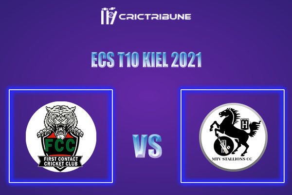 FCT vs MTV Live Score,In theMatchof ECS T10 Kiel 2021which will be played at Kiel Cricket Ground, Kiel. FCT vs MTV Live Score,Match between Kieler HTC.....