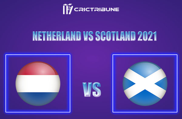 NED vs SCO Live Score,In theMatchof Scotland tour of Netherlands 2021which will be played at Hazelaarweg, Rotterdam. NED vs SCO Live Score,Match between...
