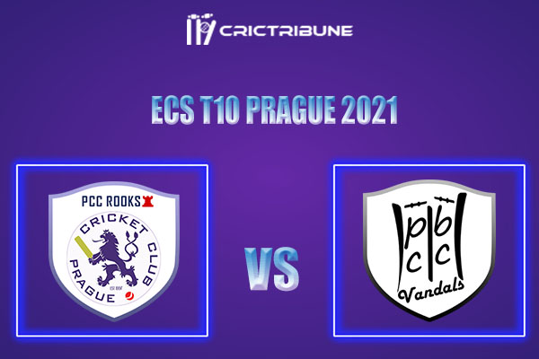 PCR vs PBV Live Score,In theMatchof ECS T10 Prague 2021which will be played at Vinor Cricket Ground. PCR vs PBV Live Score,Match between Prague CC Rooks...