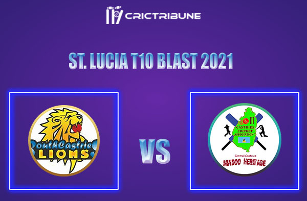 SCL vs CCMH Live Score, In the Match of St. Lucia T10 Blast 2021 which will be played at Vinor Cricket Ground. SCL vs CCMH Live Score, Match between South......