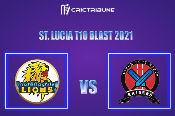 SCL vs VFNR Live Score,In theMatchof St. Lucia T10 Blast 2021which will be played at Vinor Cricket Ground. SCL vs VFNR Live Score,Match between South......