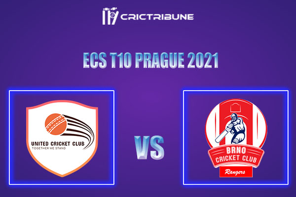 UCC vs BRG Live Score,In theMatchof ECS T10 Prague 2021which will be played at Vinor Cricket Ground. UCC vs BRG Live Score,Match between United CC vs Brno.