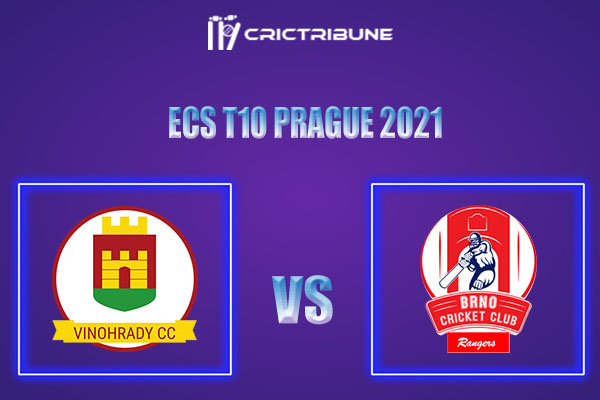 VCC vs BRG Live Score,In theMatchof ECS T10 Prague 2021which will be played at Vinor Cricket Ground. VCC vs BRG Live Score,Match between Vinohrady CC......