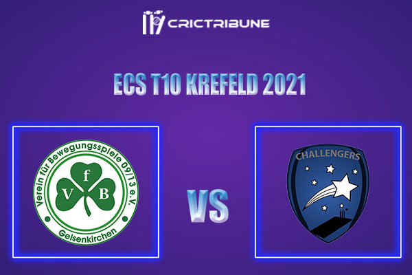 VG vs KCH Live Score,In theMatchof ECS T10 Krefeld 2021which will be played at Bayer Uerdingen Cricket Ground, Krefeld. VG vs KCH Live Score,Match between.