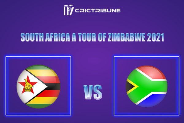 ZIM-A vs SA-A Live Score,In theMatchof South Africa A tour of Zimbabwe 2021which will be played at Bayer Uerdingen Cricket Ground, Krefeld. ZIM-A vs SA-A...
