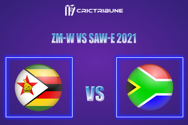 ZM-W vs SAW-E Live Score,In theMatchof South Africa Emerging Women Tour of Zimbabwe 2021which will be played at Queen's Sports Club, Bulawayo.. ZM-W vs SA..