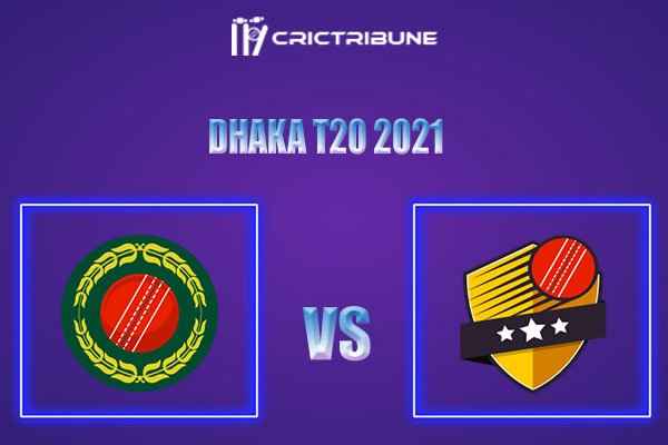 AL vs LOR Live Score,In theMatchof Dhaka T20 2021which will be played at Shere Bangla National Stadium, Mirpur, Dhaka. AL vs LOR Live Score,Match between..