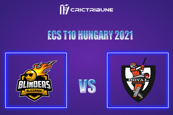 BLB vs ROT Live Score,In theMatchof ECS T10 Hungary 2021which will be played at GB Oval, Szodliget. BLB vs ROT Live Score,Match between Blinders Blizzards.