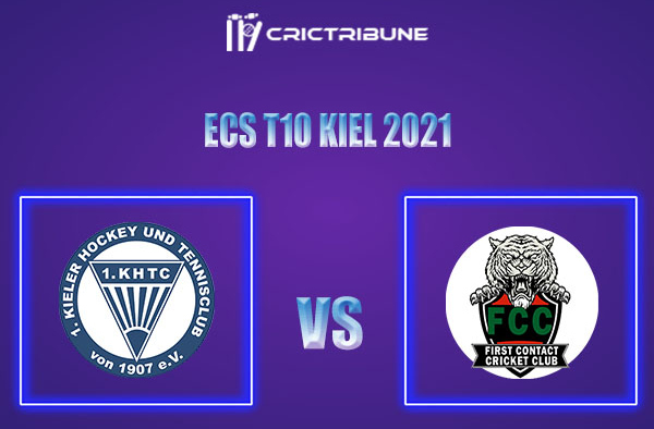 KHTC vs FCT Live Score,In theMatchof ECS T10 Kiel 2021which will be played at Kiel Cricket Ground, Kiel. KHTC vs FCT Live Score,Match between 1 Kieler .....
