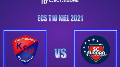 SCE vs KSV Live Score,In theMatchof ECS T10 Kiel 2021which will be played at Kiel Cricket Ground, Kiel. SCE vs KSV Live Score,Match between SC Europa......