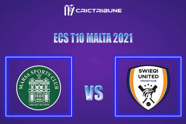 MAR vs SWU Live Score,In theMatchof ECS T10 Malta 2021which will be played at Marsa Sports Club, Malta. MAR vs SWU Live Score,Match between Marsa vs Swieqi