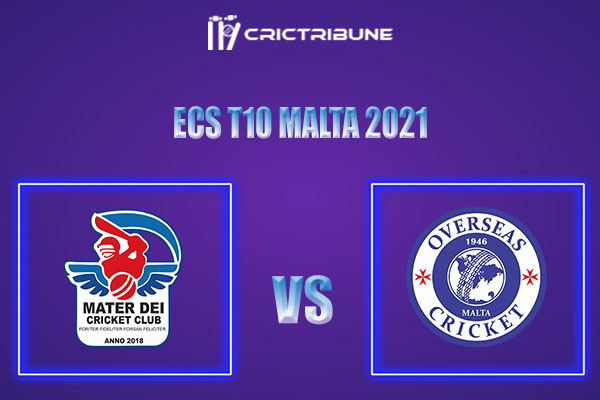 MTD vs OVR Live Score,In theMatchof ECS T10 Malta 2021which will be played at Southern Crusaders vs Atlas UTC Knights.. MTD vs OVR Live Score,Match between