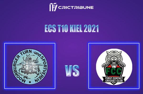 MTSV vs FCT Live Score,In theMatchof ECS T10 Kiel 2021which will be played at Kiel Cricket Ground, Kiel. MTSV vs FCT Live Score,Match between Moorburger...