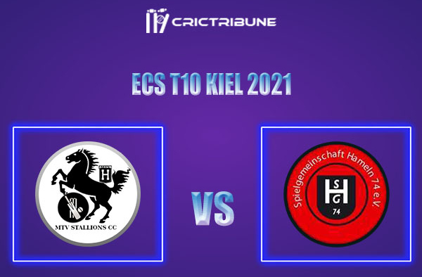 MTV vs SGH Live Score,In theMatchof ECS T10 Kiel 2021which will be played at Kiel Cricket Ground, Kiel. MTV vs SGH Live Score,Match between MTV Stallions..