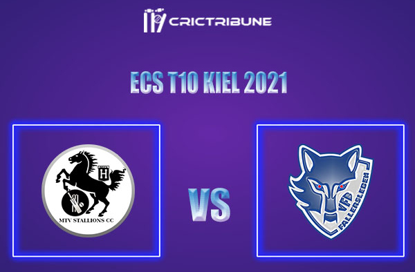 MTV vs VFB Live Score,In theMatchof ECS T10 Kiel 2021which will be played at Kiel Cricket Ground, Kiel. MTV vs VFB Live Score,Match between MTV Stallions..