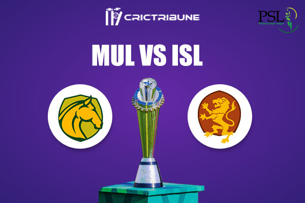 ISL vs MUL Live Score,In theMatchof Pakistan Super League 2021which will be played at Sheikh Zayed Stadium, Abu Dhabi. ISL vs MUL Live Score,Match between.