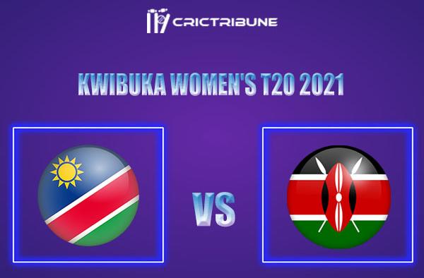 NAM-W vs KEN-W Live Score,In theMatchof Kwibuka Women's T20 2021which will be played at Gahanga International Cricket Stadium, Rwanda. NAM-W vs KEN-WLive..